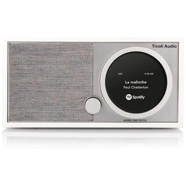 WiFiスピーカー ホワイト/グレー MOD1748JP [Bluetooth対応 /Wi-Fi対応]