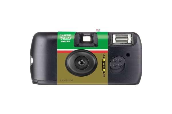 フィルムカメラのおすすめ 富士フイルム「写ルンです」新シンプルエース(27枚撮り)