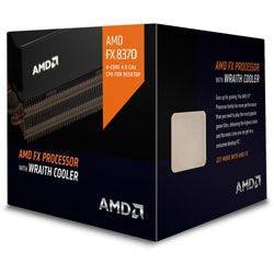 FX-8370 BOX with Wraith Cooler