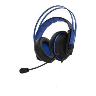 Cerberus V2 有線ゲーミングヘッドセット Cerberus ブルー [φ3.5mmミニプラグ /両耳 /ヘッドバンドタイプ]