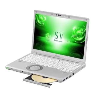 CF-SV7LFGQR ノートパソコン Let's note(レッツノート)SVシリーズ シルバー [12.1型 /intel Core i5 /SSD:256GB /メモリ:8GB /2018年2月モデル]