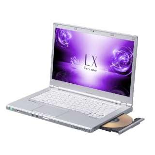 CF-LX6LDAQR ノートパソコン Let's note(レッツノート)LXシリーズ シルバー [14.0型 /intel Core i5 /HDD:1TB /メモリ:8GB /2018年2月モデル]