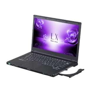 CF-LX6MDXQR ノートパソコン Let's note(レッツノート)LXシリーズ ブラック [14.0型 /intel Core i7 /HDD:1TB /SSD:128GB /メモリ:8GB /2018年2月モデル]