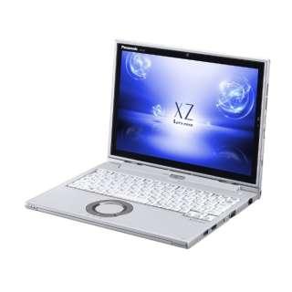 CF-XZ6LDAPR ノートパソコン Let's note(レッツノート)XZシリーズ シルバー [12.0型 /intel Core i5 /SSD:128GB /メモリ:8GB /2018年2月モデル]