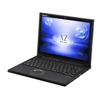 CF-XZ6LFKQR ノートパソコン Let's note(レッツノート)XZシリーズ ブラック [12.0型 /intel Core i5 /SSD:256GB /メモリ:8GB /2018年2月モデル]
