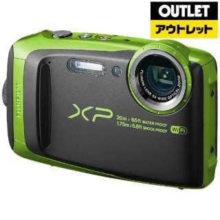 【アウトレット品】 コンパクトデジタルカメラ FinePix(ファインピックス) [防水+防塵+耐衝撃] XP120 ライム 【生産完了品】