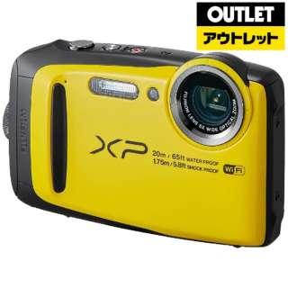 【アウトレット品】 コンパクトデジタルカメラ FinePix(ファインピックス) [防水+防塵+耐衝撃] XP120 イエロー 【生産完了品】