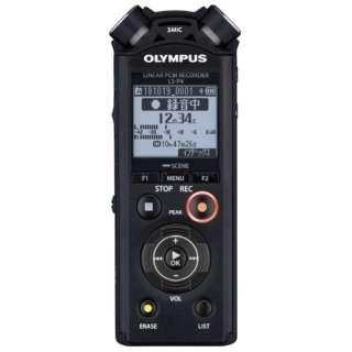 LS-P4 ICレコーダー ブラック [8GB /Bluetooth対応 /ハイレゾ対応]