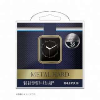 Apple Watch 38mm ハードケース LP-AW38MCGD ゴールド