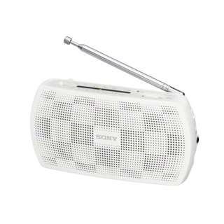 携帯ラジオ ホワイト SRF-19WC [AM/FM /ワイドFM対応]