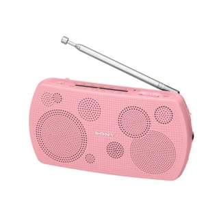 携帯ラジオ ピンク SRF-19PC [AM/FM /ワイドFM対応]
