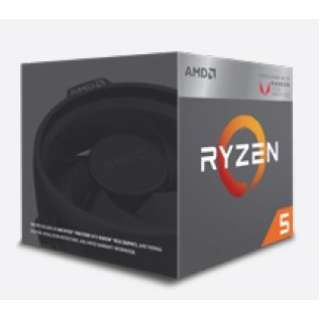 〔CPU〕 AMD Ryzen 5 2400G with Wraith Stealth cooler YD2400C5FBBOX-J