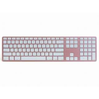 FK418BTRG キーボード Matias Wireless Aluminum Keyboard Rose Gold [Bluetooth /ワイヤレス]
