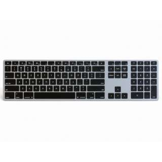 FK418BTB キーボード Matias Wireless Aluminum Keyboard Space gray [Bluetooth /ワイヤレス]