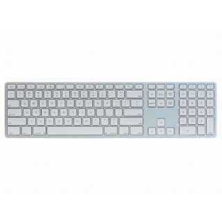 FK418BTS キーボード Matias Wireless Aluminum Keyboard Silver [Bluetooth /ワイヤレス]