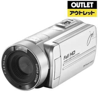 【アウトレット品】 JOY-F9IRSV ビデオカメラ [フルハイビジョン対応] 【生産完了品】