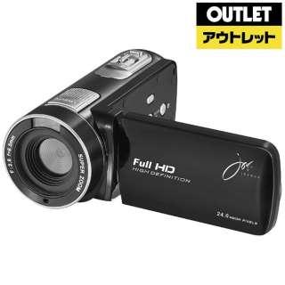 【アウトレット品】 ビデオカメラ [フルハイビジョン対応] JOY-F6TC ブラック 【生産完了品】