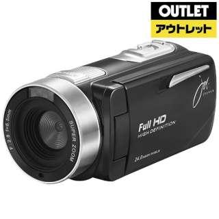 【アウトレット品】 ビデオカメラ [フルハイビジョン対応] JOY-F9TC ブラック 【生産完了品】