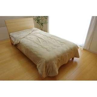 17 フランIT2枚合わせ毛布(ダブルサイズ/180×200cm/ベージュ)