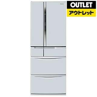 【アウトレット品】 冷蔵庫 [6ドア /観音開きタイプ /451L] NR-FV45V2-H クリアグレー 【生産完了品】