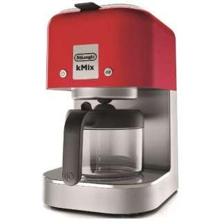 COX750J コーヒーメーカー ケーミックス スパイシーレッド