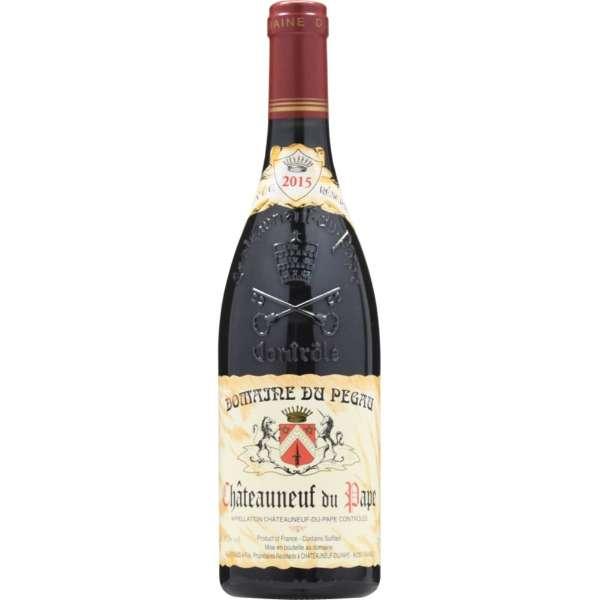 [ネット限定特価] ドメーヌ・ペゴー シャトー・ヌフ・デュ・パプ ルージュ 2015 750ml【赤ワイン】