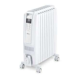 QSD0915 オイルヒーター ドラゴンデジタルスマート ピュアホワイト+ホワイト [最大13畳]