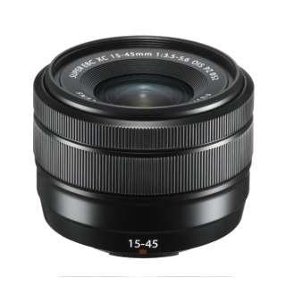 カメラレンズ XC15-45mmF3.5-5.6 OIS PZ FUJINON(フジノン) ブラック [FUJIFILM X /ズームレンズ]