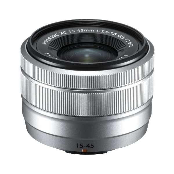 カメラレンズ XC15-45mmF3.5-5.6 OIS PZ FUJINON(フジノン) シルバー [FUJIFILM X /ズームレンズ]