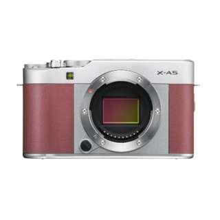 X-A5-P ミラーレス一眼カメラ ピンク [ボディ単体]