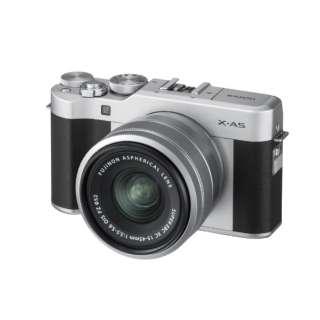 X-A5-S ミラーレス一眼カメラ シルバー [ズームレンズ]