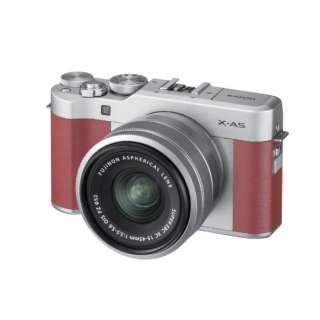 X-A5-P ミラーレス一眼カメラ ピンク [ズームレンズ]