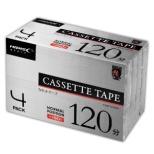 HDAT120N4P カセットテープ HIDISC [4本 /120分 /ノーマルポジション]
