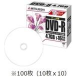DHR47JPP10C データ用DVD-R [100枚 /4.7GB]