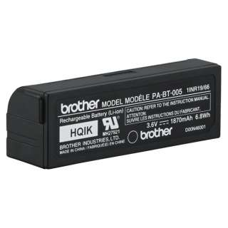 【純正】ピータッチ(P-touch) PT-P710BT用 Li-ion充電池 PA-BT-005 PA-BT-005