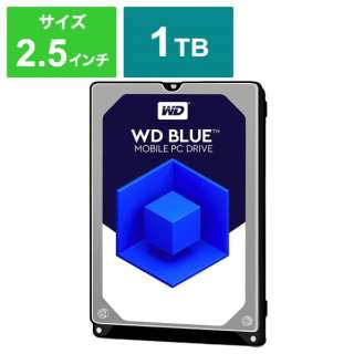 WD10SPZX 内蔵HDD WD BLUE PC MOBILE HARD DRIVE [2.5インチ /1TB] 【バルク品】