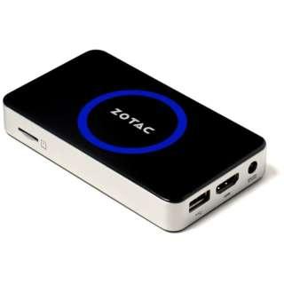 ZBOX-PI321-W2 デスクトップパソコン ZBOX PI321 pico Win8.1 with Bing ブラック [モニター無し /eMMC:64GB /メモリ:2GB /2014年10月]