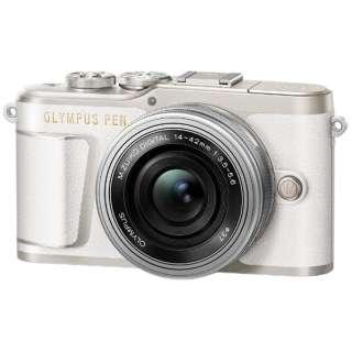 PEN E-PL9 ミラーレス一眼カメラ 14-42mm EZレンズキット ホワイト [ズームレンズ]