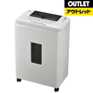 【アウトレット品】 SHR-AF606C 電動シュレッダー ホワイト [マイクロカット /A4サイズ /CDカット対応] 【生産完了品】