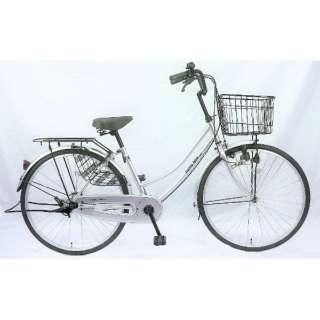 26型 自転車 パティオボックスSE(シルバー/シングルシフト) FW-B260BA-BC-BAA 【組立商品につき返品不可】