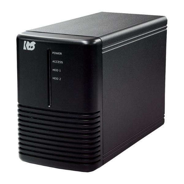 ラトックシステム USB3.0 RAIDケース HDD2台用 ブラック RS-EC32-U3RX 1台