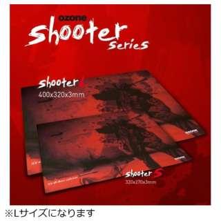 OZSHOOTERL ゲーミングマウスパッド Shooter
