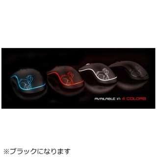OZNEONBK ゲーミングマウス NEON ブラック [レーザー /8ボタン /USB /有線]