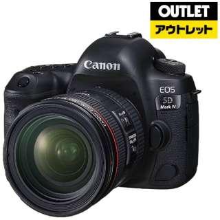 【アウトレット品】 EOS 5D Mark IV デジタル一眼レフカメラ EF24-70 F4L IS USM レンズキット [ズームレンズ] 【展示品】
