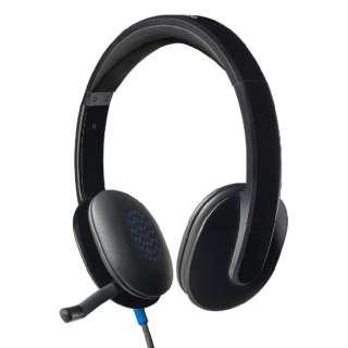 H540R ヘッドセット ブラック [USB /両耳 /ヘッドバンドタイプ]