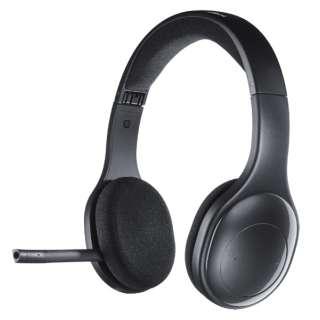 ヘッドセット ブラック H800R [ワイヤレス(Bluetooth) /両耳 /ヘッドバンドタイプ]
