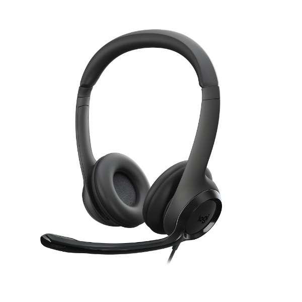 H390R ヘッドセット ブラック [USB /両耳 /ヘッドバンドタイプ]