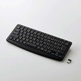 TK-FDM091STBK キーボード ミニ 静音 ブラック [USB /ワイヤレス]