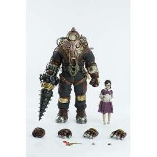 塗装済み可動フィギュア 1/6 BioShock2(バイオショック2) Subject Delta&Little Sister(実験体デルタ&リトルシスター)
