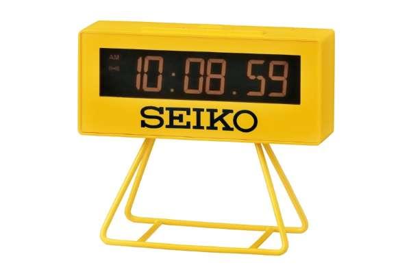 目覚まし時計おすすめ18選 セイコー 「ミニスポーツタイマークロック」 SQ815Y